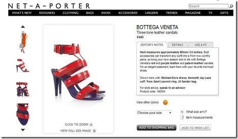 netaporter for webhints