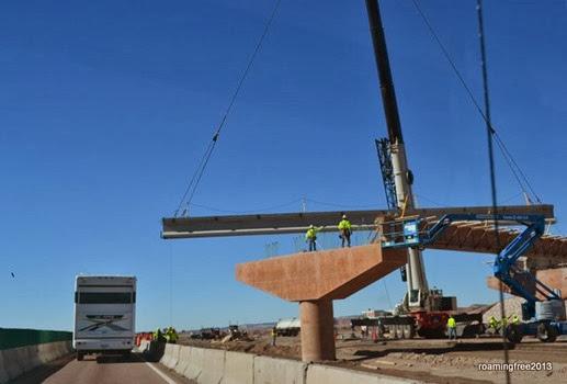 I-40W construction