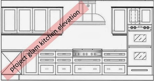 kitchen elevation 1- SAH