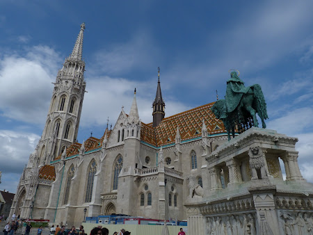 Obiective turistice Ungaria: Catedrala Matei Corvin din Budapesta