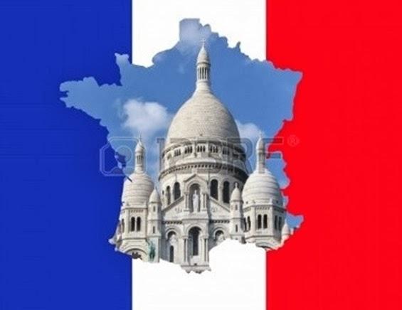 Mapa de França 3