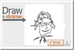 draw stickman