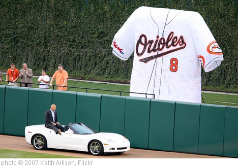 'Cal Ripken Hall of Fame Farewell' photo (c) 2007, Keith Allison - license: http://creativecommons.org/licenses/by-sa/2.0/