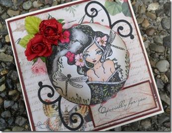 Sweet Pea Stamp - Trollslända
