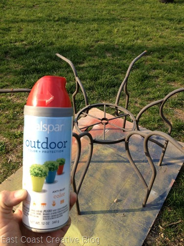 East Coast Creative: Patio Furniture Update on a Budget! {and a ...