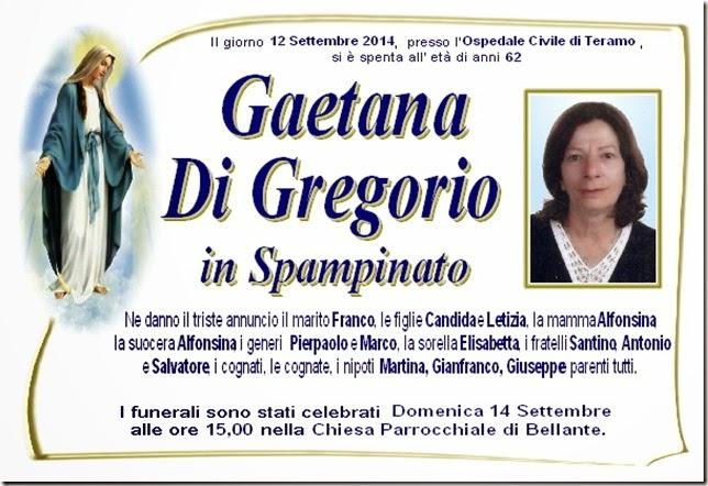Annuncio Di Gregorio Gaetana