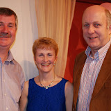 EAmon Mc Cafferty, Siobhan Tobin, Tony Wehrly (Siobhan was joint 3rd in the Ladies C - Autumn League)