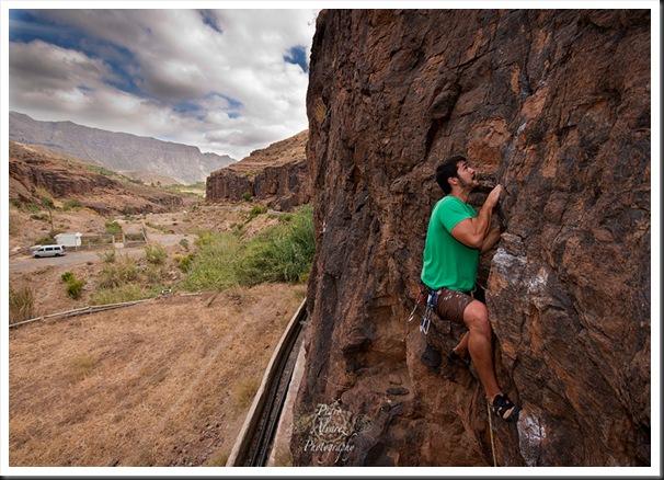 Escalada en canarias, Fataga, climb in canarias. 28
