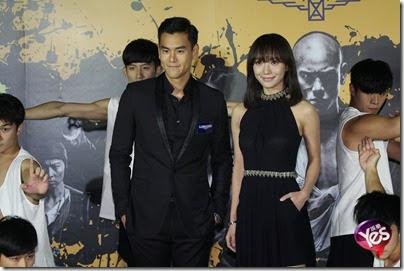 2014.11.26 Eddie Peng during Rise of the Legend - 彭于晏 黃飛鴻之英雄有夢 台北 07