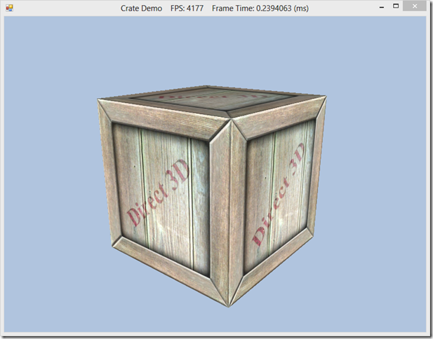 Texturing 101–Crate Demo
