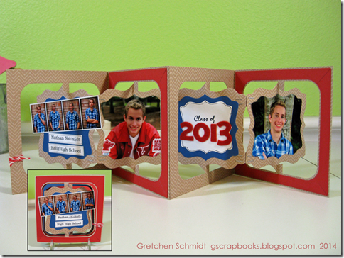 Nathan | Mini Album by @gscrapbooks