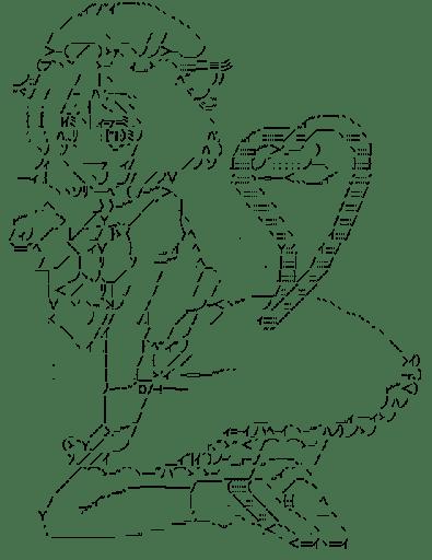 橙 ハート (東方)