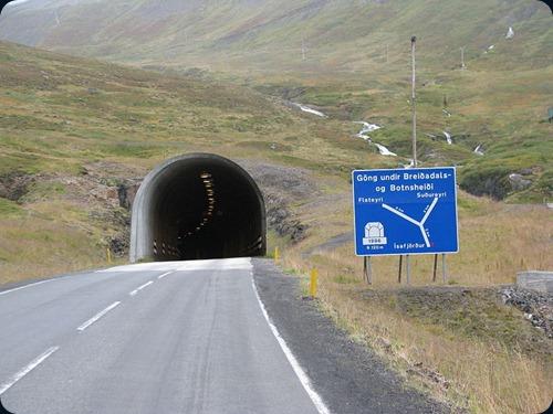 Iceland Vestfjardargöng