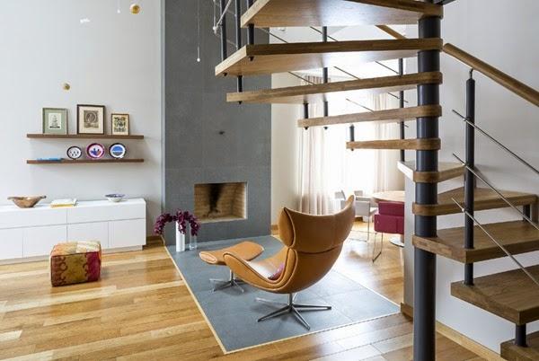moderna-escalera-caracol-madera