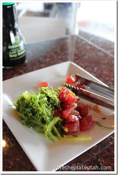 Sushi Groove Pokki Salad