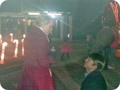 Jason proposing