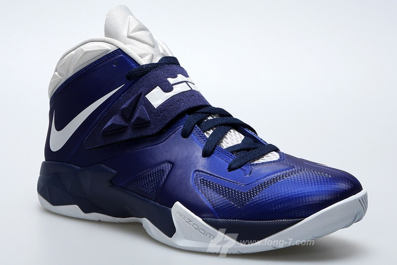 Nike Soldier VII (7) Deep Royal   Pure Platinum   Medium Navy  fe5ce2de5c