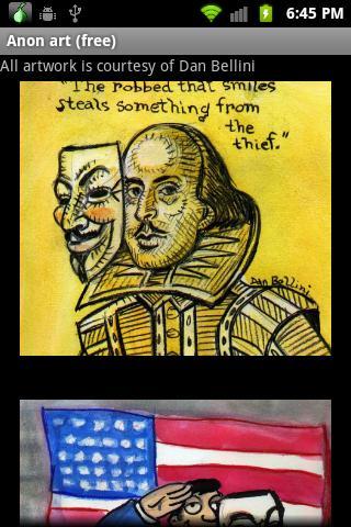 Anon art free