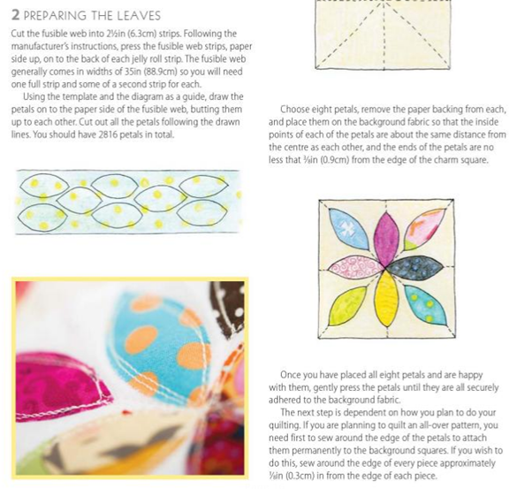 Summer Petals Instructions