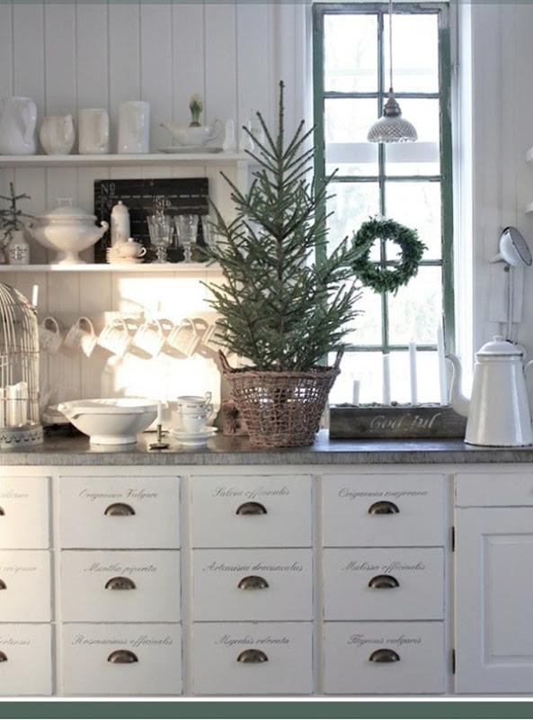 Navidad al estilo escandinavo