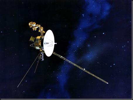 Ilustração da sonda Voyager 1 (Foto: NASA)