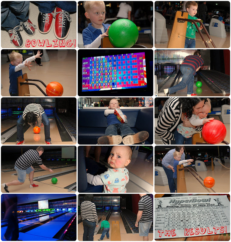 Picnik collage bowling