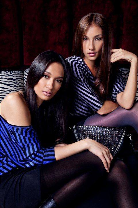 Penshoppe - Bea Soriano and Solenn Heussaff