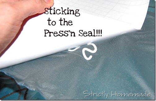 Sticking to the press and Seal