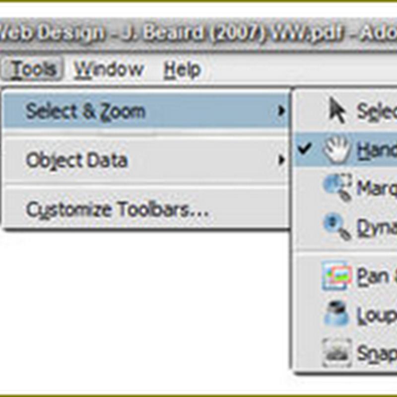 เครื่องมือที่ช่วย copy รูปภาพจากเอกสาร PDF ไปใช้งาน