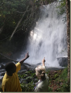 Chilengwe falls- beautiful