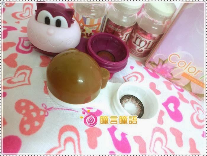 日本KRIAKRIA隱形眼鏡-Sweety Eye 糖果巧克力5