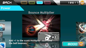 Screenshot of Stardunk with Mobage