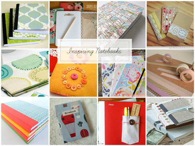 Blog Notebook Round Up Collage