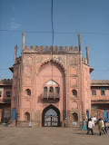 Entrance gate on the east side. This was used as a main entrance during old time, however these days southern gate is in use mostly.