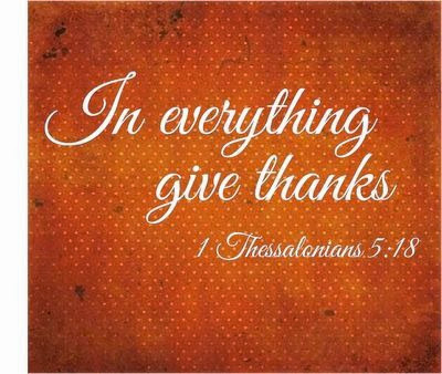 1 Thessalonians 5 18