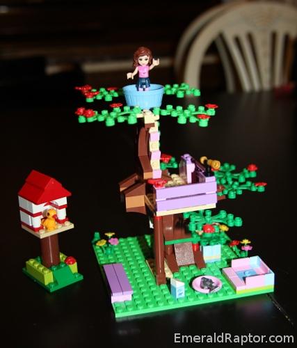 Lego Friends: Olivias tretopphus