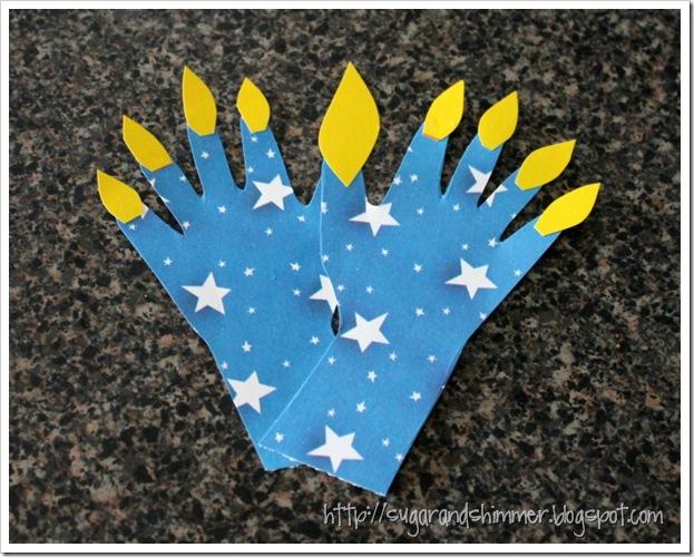 Sugar and shimmer easy hanukkah toddler crafts for Hanukkah crafts for adults