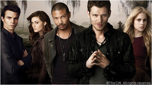 The lead actors from THE ORIGINALS.