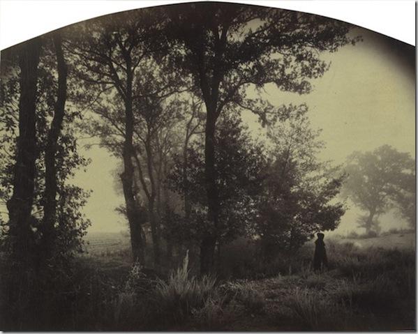 Paysage avec figure - Forez  Loire