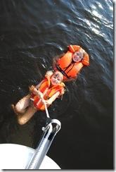 Lisas första båttur 1.8. 2011 139