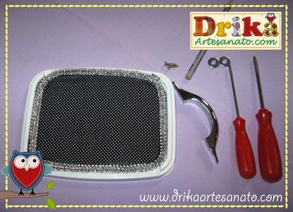 17 Passo a passo de pote de sorvete decorado Drika Artesanato