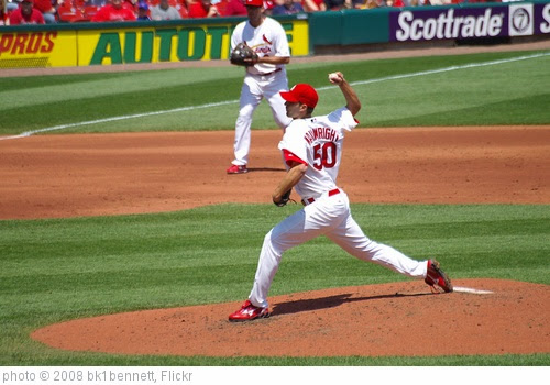 'Adam Wainwright Delivers' photo (c) 2008, bk1bennett - license: https://creativecommons.org/licenses/by-nd/2.0/