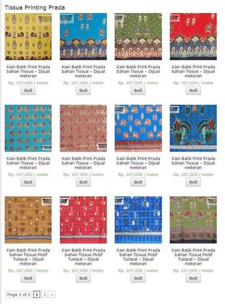 » Tissue Printing Prada Archive - TimikaUnique