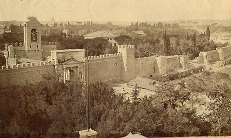porta_pia e Breccia viste da villa Patrizi