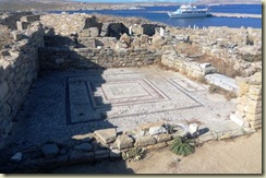 Mosaic in floor Delos (Small)
