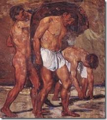 Marée,_Hans_von_(1837-1887)_-_La_partenza_dei_pescatori_3_-_NA_Acquario_-_1873_2