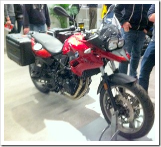 BMW F700GS 2013 Salon Moto Montreal