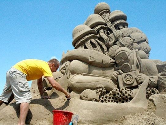 a-arte-na-areia