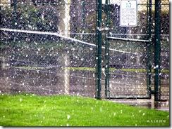 Snow.  Gresham, Oregon.  March 18, 2012.