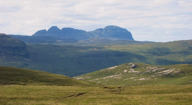 306 Suilven from the north
